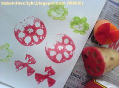 This craft is something that most of us have done during our childhood days but kids nowadays are a privileg. Vegetable Crafts, Kids Nowadays, Food Stamps, Childhood Days, Crafts For Kids, Preschool Ideas, Vegetables, Stamping, Blog