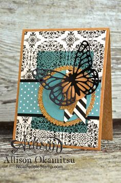 nice people STAMP!: Butterflies Thinlits - They're BACK!