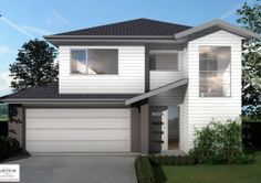 Builders Auckland - House Plan Silverdale | Sentinel Homes House Plans, Garage Doors, How To Plan, Auckland, Outdoor Decor, Homes, Home Decor, Houses, Decoration Home