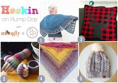Hookin On Hump Day 158 - kicking off 2018 with another gorgeous collection of crochet from around the web - and 4 out of 5 are FREE!