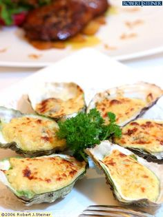 Oyster mornay. My all time favourite.