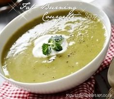My Fat Burning Courgette Speed Weight Loss Soup. #fatburning #fatburningrecipes #courgettespeedweightlosssoup