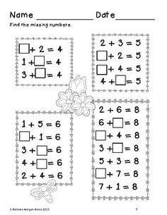 First Grade Math {Frog Math} A Spring Math Review