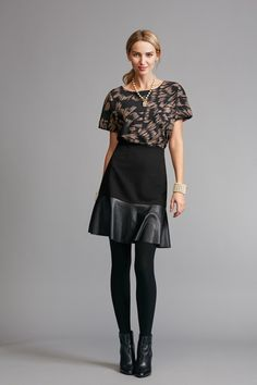 Flip Skirt - Cabi Fall 2017 Collection jeanettemurphey.cabionline.com, open 24/7