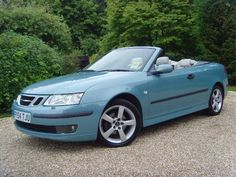 There's nothing like a SAAB convertible.