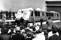 June 27, 1965: According to the photo, this is the unveiling of the first BART car.