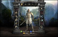 http://www.behance.net/gallery/The-Lord-of-the-Rings-War-in-the-North-Game-UI/2828697