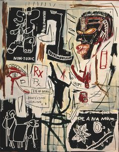 Melting Point of Ice /Jean-Michel Basquiat, 1984