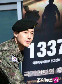 Sergeant Kim Hyun Joong 김현중