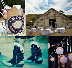 rustic wedding pictures- rustic wedding theme2