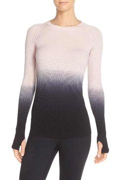 Climawear 'See the Light' Ombré Long Sleeve Tee