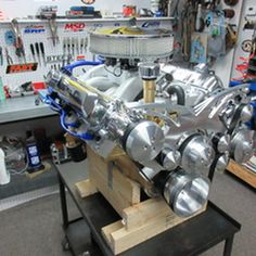 455 Oldsmobile Crate Engine 475 HP With Aluminum Heads Crate Motors, Crate Engines, Performance Engines, Custom Paint, Man Cave, Dream Cars, Crates, Engineering, Home Appliances