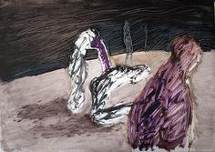 "Saatchi Online Artist Maia S Oprea; Painting, ""Dust IV"" http://www.maiaoprea.ro/en/projects/2012/dust/paintings #art #painting, #absence #landscape #oil"