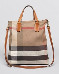 Burberry Brit Satchel - Medium Tottenham Bin ORIG $695.00 WAS $486.50 NOW $417.00