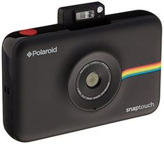 Polaroid Snap Touch Instant Print Digital Camera With LCD Display Black with Zink Zero Ink Printing Technology *** Check this awesome product by going to the link at the image-affiliate link.