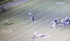 Remember the Brutal Hit Two HS Football Players Delivered to a Ref? Now They Say Coach Ordered It (VIDEO)