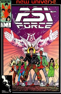 PSI-Force # 1 by Mark Texeira