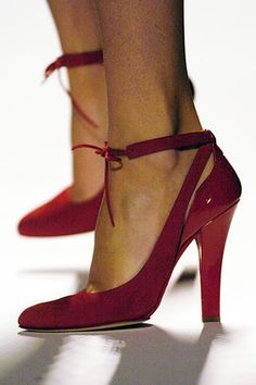 Narciso Rodriguez Fall 2005 Shoes