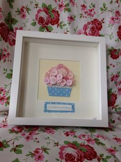 Hey, I found this really awesome Etsy listing at http://www.etsy.com/listing/158277134/button-art-box-frame-cupcake-heaven-love