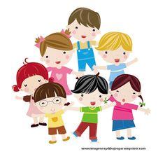 Niños para imprimir-Imagenes y dibujos para imprimir