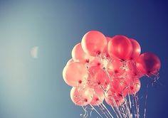 Pink Balloons | via Tumblr