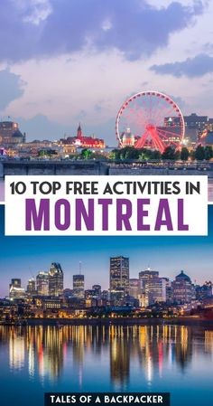 Backpacking Canada, Canada Trip, Visit Canada, Canada Travel, Cheap Travel, Budget Travel, Travel Tips, Montreal Travel, Montreal Canada