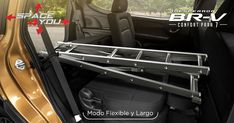 Modo Flexible y Largo: Transporta objetos largos al configurar los asientos de la segunda y tercera fila en el Modo Flexible; además, al plegar el asiento del copiloto, transfórmalo en el Modo Largo para llevar objetos de máxima longitud. #InesperadaBRV  Con la tecnología exclusiva de Honda, Space4You, no tendrás límites para trasladar todo lo que necesites. Sus asientos configurables desde la segunda hasta la tercera fila, hacen de BR-V tu mejor aliada en cada viaje.