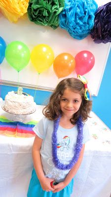 The Simple Craft Diaries: Rainbow Birthday Party -II
