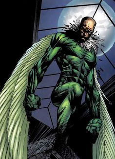 Vulture by Stephen Platt Marvel Dc, Marvel Comic Universe, Comics Universe, Disney Marvel, Marvel Heroes, Vulture Spiderman, Vulture Marvel, Marvel Comic Character, Comic Book Characters