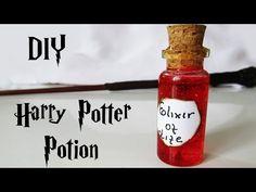 DIY: Poções do Harry Potter - Elixir da Vida - YouTube