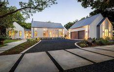 25 Stunning Modern Farmhouse Home Exterior Design Ideas