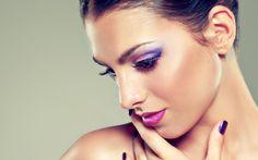 Frauen - Gesicht  Hintergrundbild