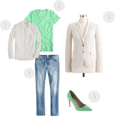 """""""Minty Fresh"""" by stacycooksey on Polyvore"""