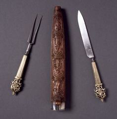 Case with fork and knife - Museo Lázaro Galdiano Foundation