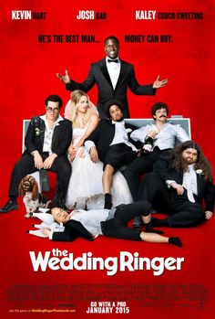 The Wedding Ringer. Directed by Jeremy Garelick. With Kaley Cuoco-Sweeting, Alan Ritchson, Josh Gad, Kevin Hart. A shy young groom needs to impress his in-laws, so he turns to a best-man-for-hire to help him out. Comedy Movies, Hd Movies, Movies Online, Movies And Tv Shows, Movie Tv, Movie Plot, Funny Comedy, Kaley Cuoco, The Wedding Ringer Movie