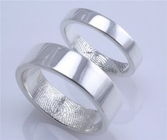 Awesome Fingerprint Rings