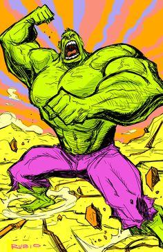 The Hulk - Bobby Rubio