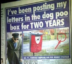 Funny Newspaper Headlines | WTFunny News Stories – 30 Pics. Now this is truly funny. Poor guy. I bet his credit is bad from not paying his bills on time.