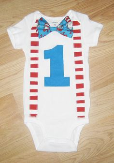 Boys first birthday outfit Bodysuit and leg by kottoncactus