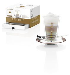 Coffee glass with nice gift box