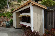 Canoe Storage Shed   Kayak Shed and Garden Storage, San Rafael, CA