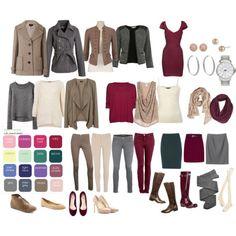 Soft Summer Colors wardrobe