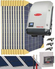 Kit Conexión Red Trifásico 17500W 86400Whdia con Vertido 0 Kit Solar, La Red, Ideas, Space, Free, Licence Plates, Solar Power, Atelier, Floor Space