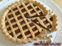 You searched for crostata alla Nutella - Kikakitchen Real Food Recipes, Dessert Recipes, Yummy Food, Pasta Frolla Recipe, Tostadas, Crostata Recipe, Butter Pasta, Nutella Cookies, Sweets