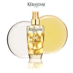 ELIXIR ULTIME Brillantezza sublime, volume straordinario. Il 1° olio bifasico volumizzante di Kérastase per capelli fini.