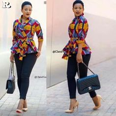 Ankara kitenge Tops 25 Styles - Reny styles kitenge Tops See these admirable ankara acme you should appearance your clothier this anniversary for the abutting Friday's African outfit. Latest African Fashion Dresses, African Print Dresses, African Print Fashion, Africa Fashion, African Dress, Ankara Fashion, Kitenge, African Attire, African Wear