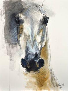 """Saatchi Art Artist Benedicte Gele; Drawing, """"Alert XI"""" #art"""