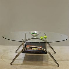 Create a sophisticated living space with this classy coffee table.