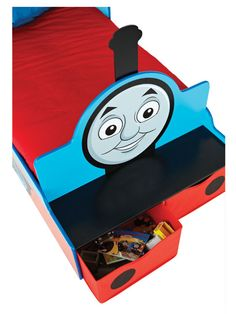 Thomas Feature Toddler Bed with Storage