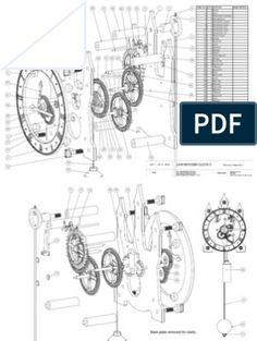 Wooden Gear Clocks | Gear | Machines